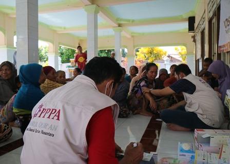 Layanan Kesehatan Pasca Banjir Lombok