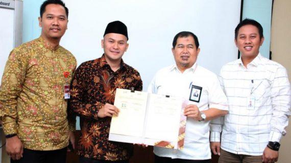 MoU Pengelolaan Zakat YBM PLN di Kampung Qur'an Rukem