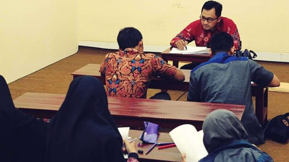 Santri Grha Tahfidz Tengah Hadapi Ujian Awal Semester