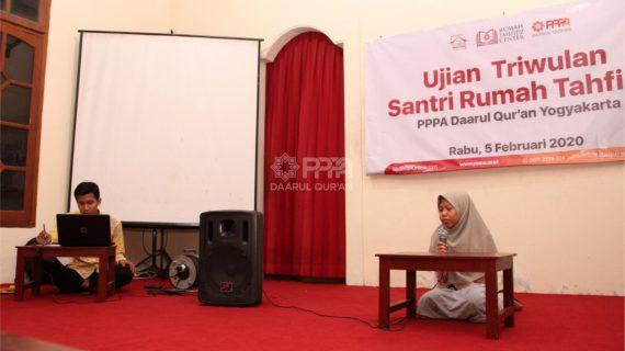 PPPA Yogyakarta Gelar Ujian Tahfizh Triwulan